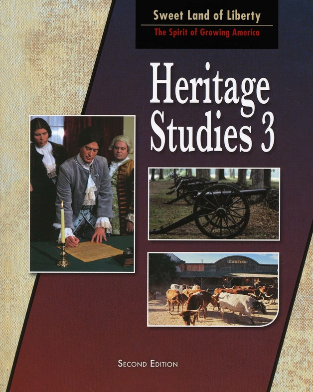 BJU Heritage Studies Grade 3 Student Text, Second Edition