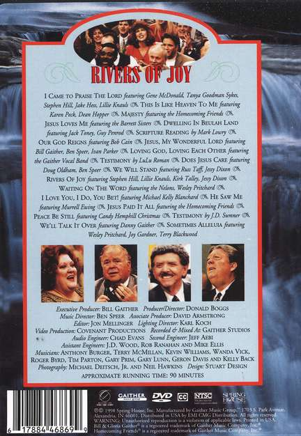 Rivers of Joy DVD