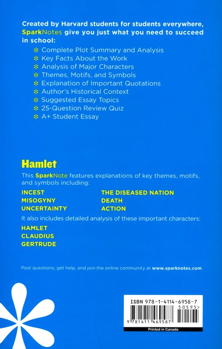 hamlet sparknotes themes