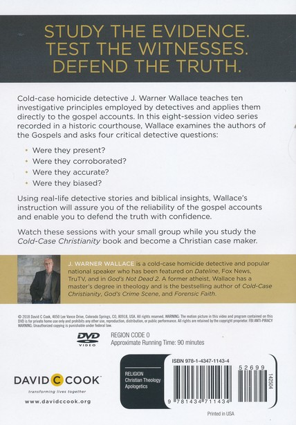 Cold-Case Christianity DVD