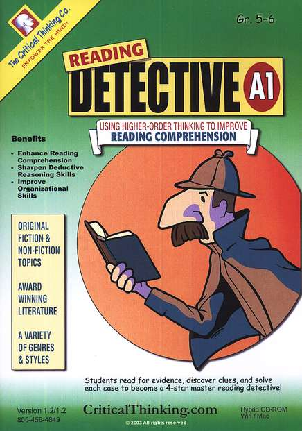 Reading Detective A1 (Grades 5-6) on CD-ROM