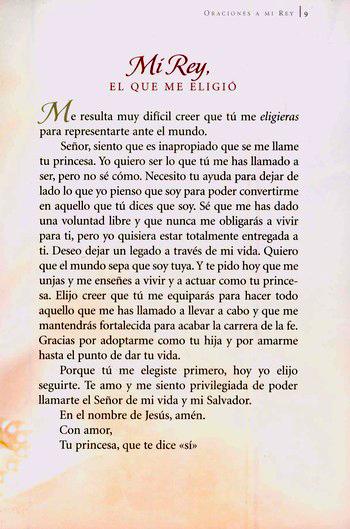 Su Princesa Oraciones A Mi Rey His Princess Prayers To My King Sheri Rose Shepherd 9780829747157 Christianbook Com