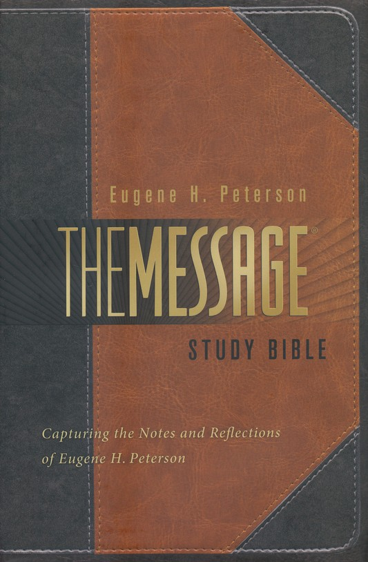 Annotated Message Study Bible