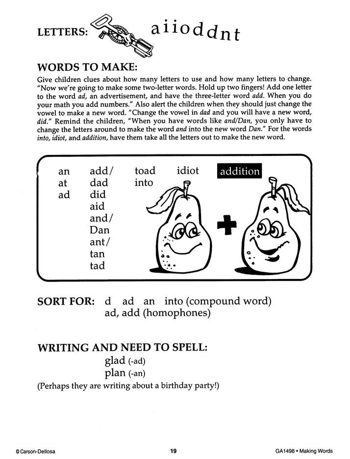 Making Words, Grades 1-3