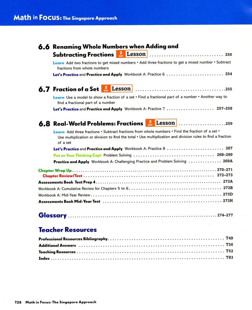 Math in Focus: The Singapore Approach Grade 4 Second Semester Homeschool  Package: 9780547428826 - Christianbook.com