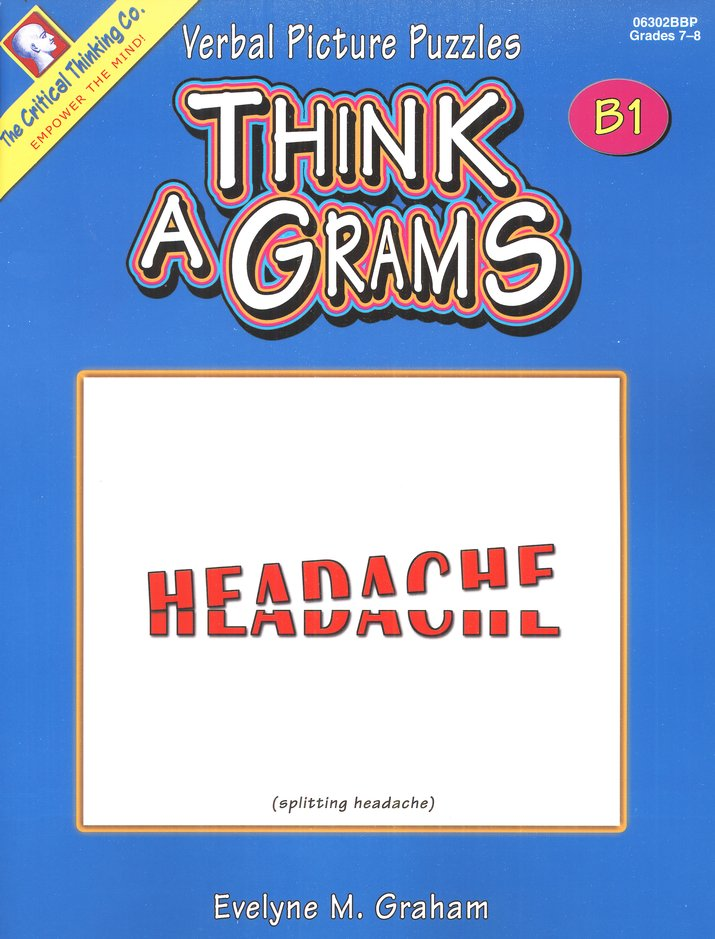 Think-A-Grams Grades 7-8 Ability Book B1