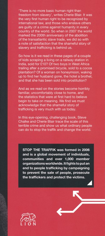 Stop the Traffik: People Shouldn't Be Bought and Sold
