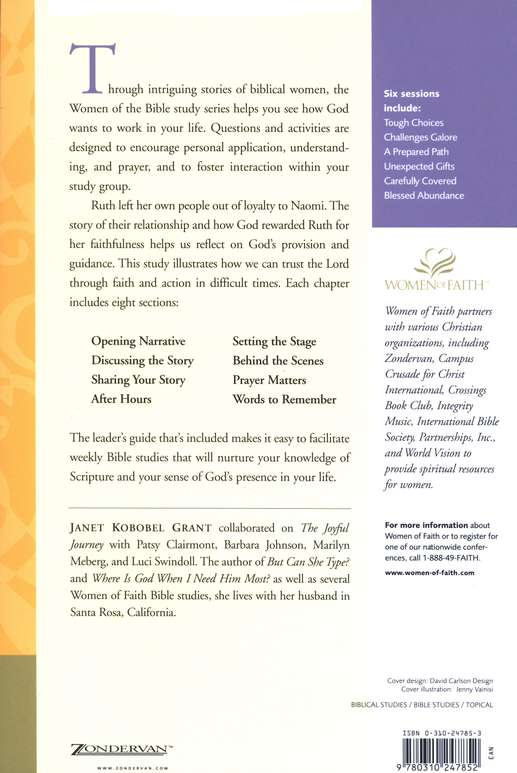 Trusting That God Will Provide, Women of Faith Bible Study Series