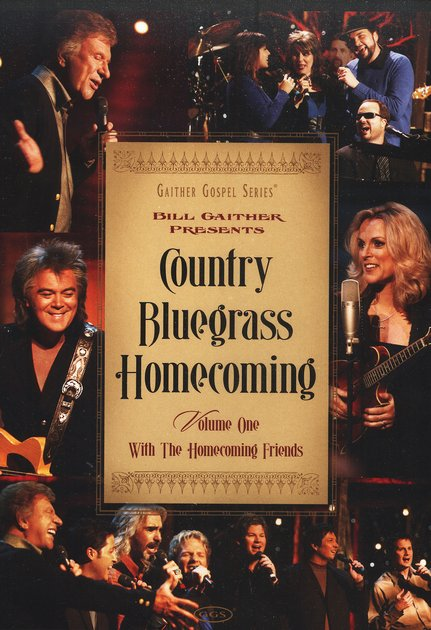 Country Bluegrass Homecoming, Volume 1 DVD