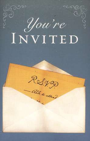You're Invited (KJV), Pack of 25 Tracts