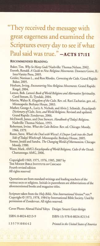Comparing Christianity with World Religions,  Pamphlet