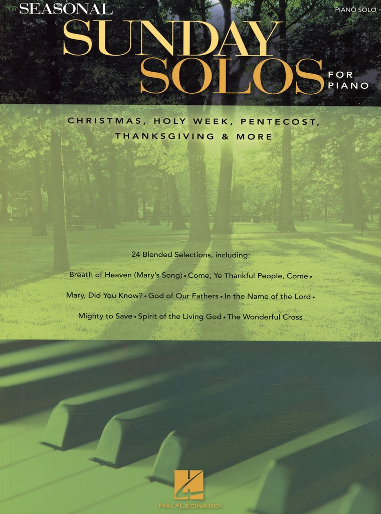 Seasonal Sunday Solos for Piano (Piano Solo)