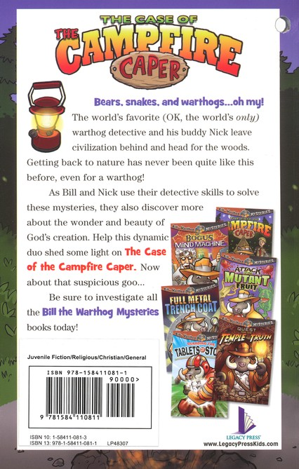 #7: The Case of the Campfire Caper
