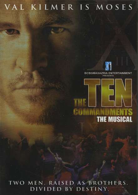 The Ten Commandments: The Musical, DVD