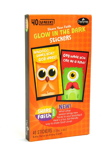 Share Your Faith--Glow in the Dark Stickers