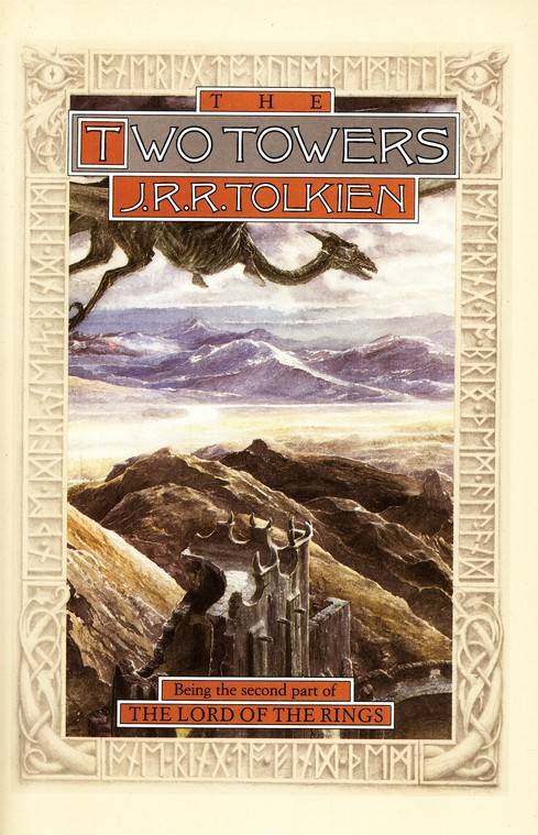 The Two Towers: Part Two of the Lord of the Rings, Hardcover  Anniversary Edition