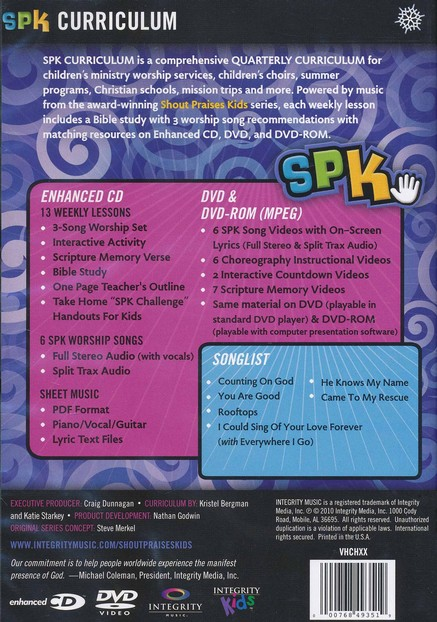 SPK Curriculum-Counting On God