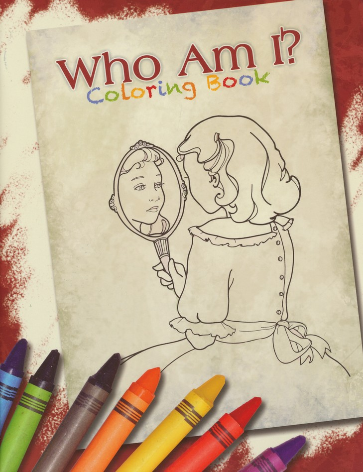 Who Am I? Coloring Book