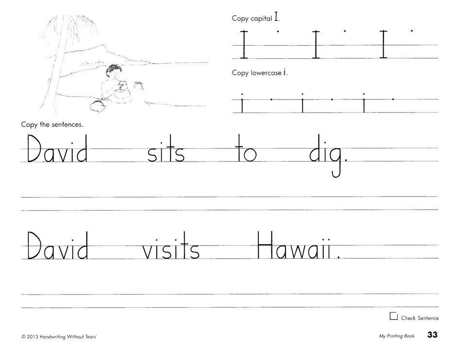 image about Handwriting Without Tears Printable Worksheets named Handwriting Without having Tears Quality 1 Package