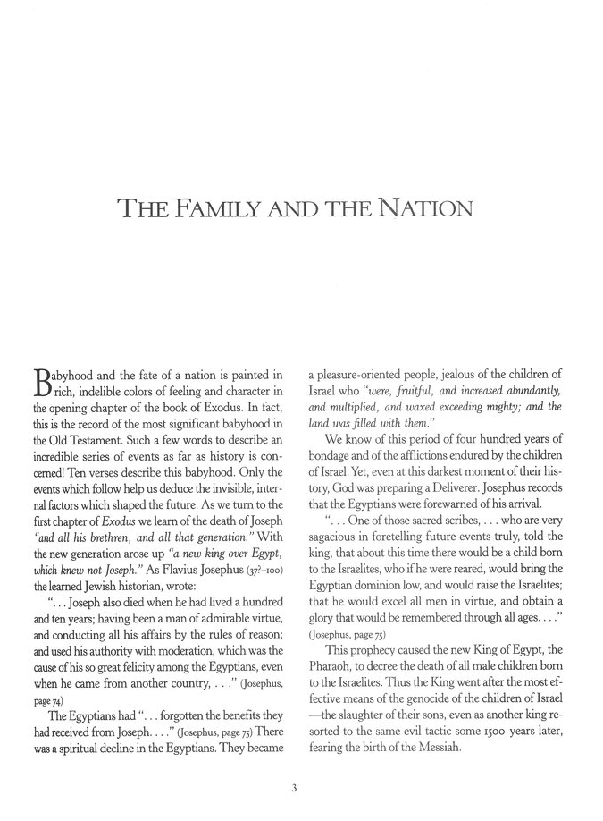 The Family and the Nation: Biblical Childhood