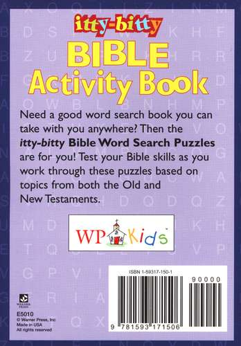 Bible Word Search Puzzles--Ages 7 and Up