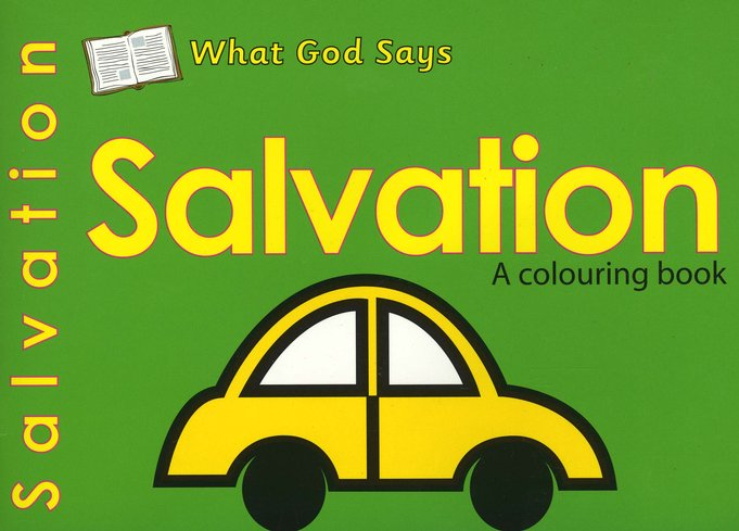 What God Says: Salvation, A Coloring Book