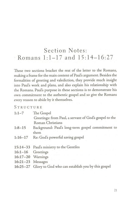 Read/Mark/Learn: Romans