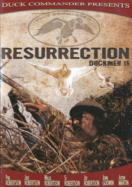 Resurrection: Duckmen 16, DVD