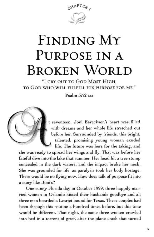 Understanding Purpose, Women of Faith Bible Studies