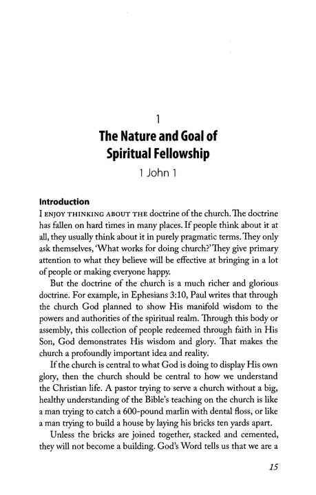 The Life of God in the Soul of the Church