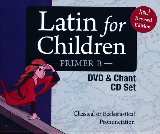 Chant CDs Latin For Children Primer Level A Set 3 DVDs Dr Christopher Perrin
