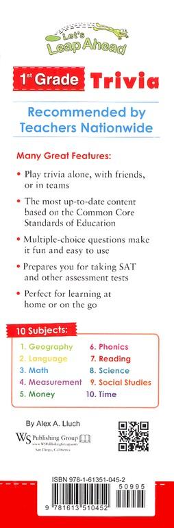 Let S Leap Ahead 1st Grade Trivia
