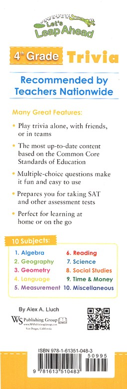 Let S Leap Ahead 4th Grade Trivia