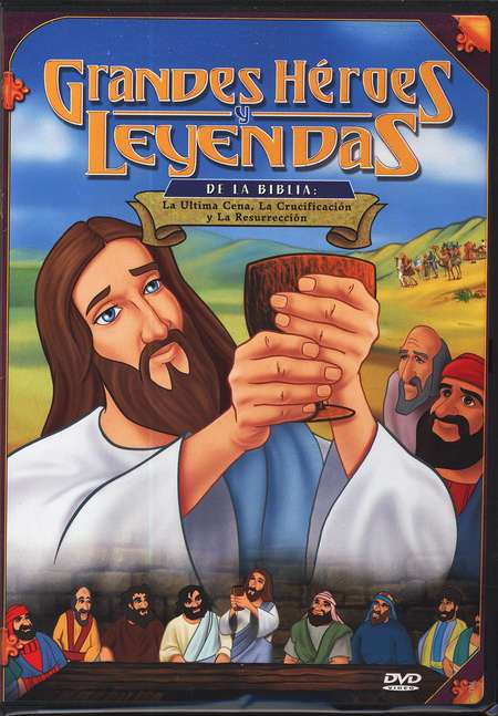 La Ultima Cena, Grandes H&#233roes y Leyendas de la Biblia  (Last Supper, Great Heroes and Legends of the Bible), DVD