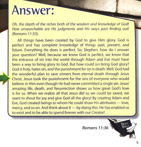 The Answers Book for Kids, Volume 4: 22 Questions from Kids on  Sin, Salvation, and the Christian Life