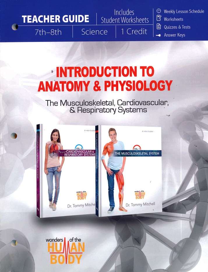 Introduction To Anatomy Physiology Pack 7th 8th Grade 3 Volumes
