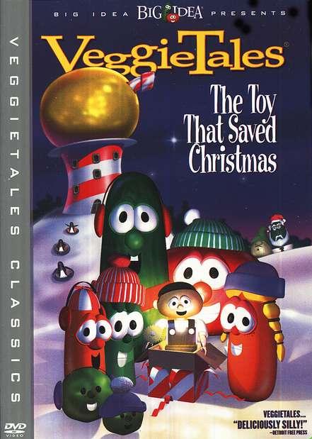 the toy that saved christmas veggietales dvd - The Toy That Saved Christmas