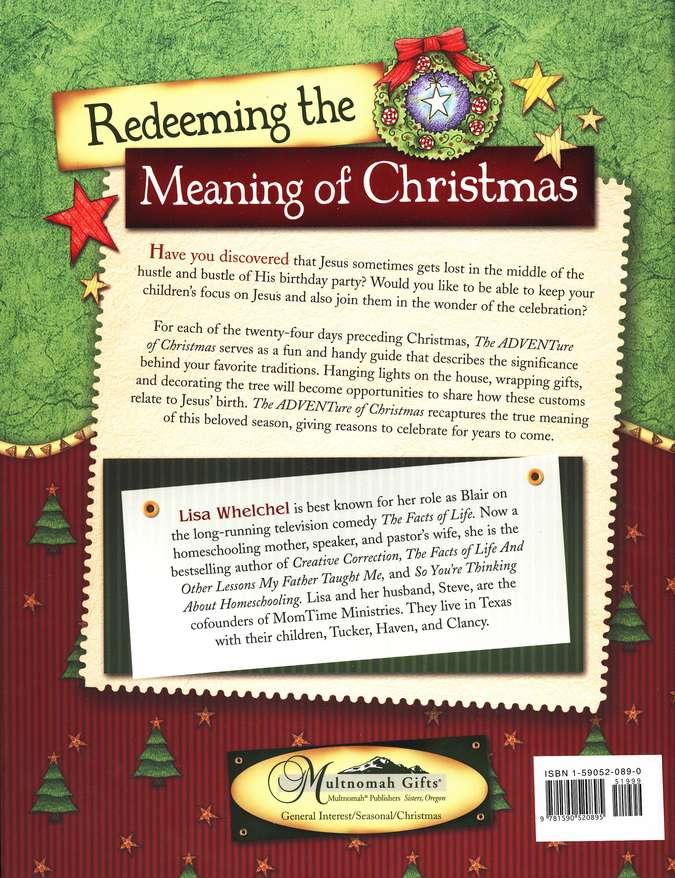 The ADVENTure of Christmas: Finding Jesus in Our Holiday Traditions