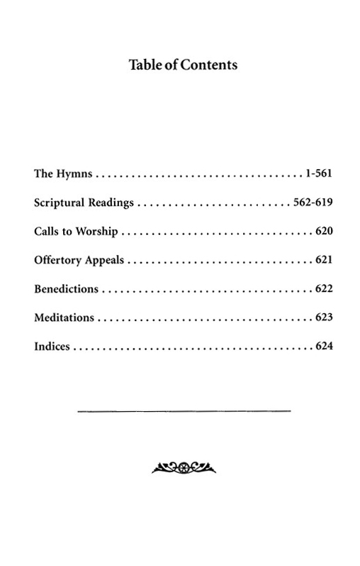The New National Baptist Hymnal 21st Century Edition Black Leather Special Presentation