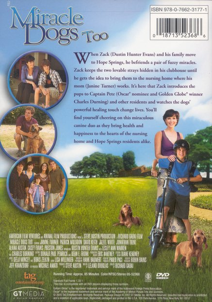 Miracle Dogs Too, DVD
