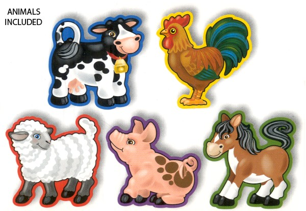 Lace and Trace Farm Animals