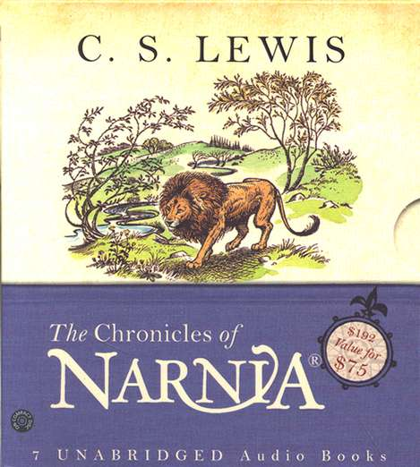 The Chronicles Of Narnia Unabridged Boxed Set Audiobook On Cd