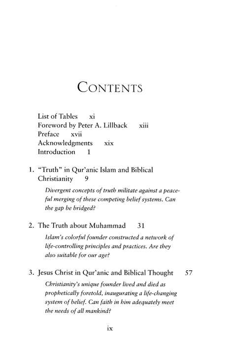 The Truth about Islam: The Noble Qur'an's Teachings in Light of the Holy Bible