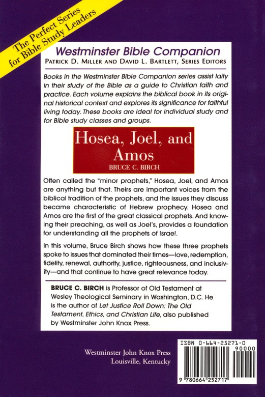 The Companion Bible - The Book of Hosea