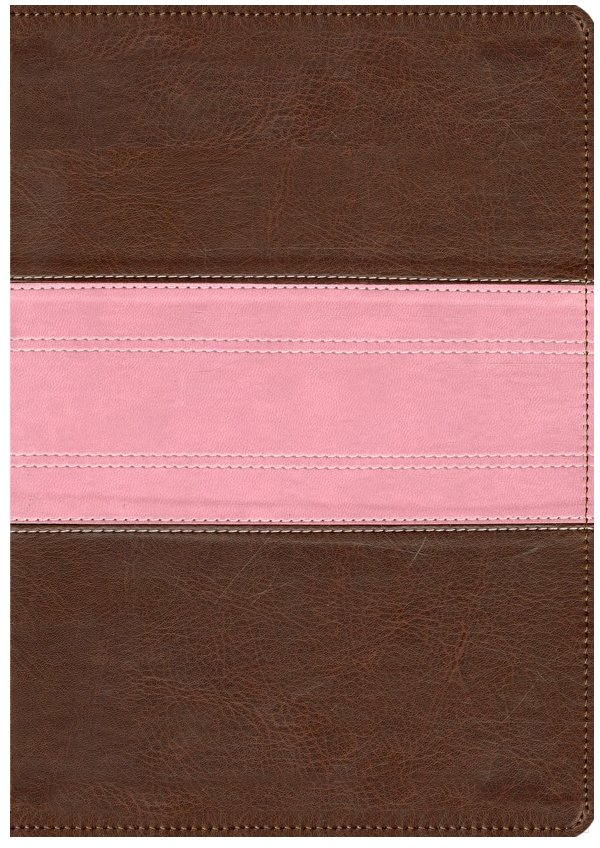 ESV Study Bible TruTone Chocolate/Rose