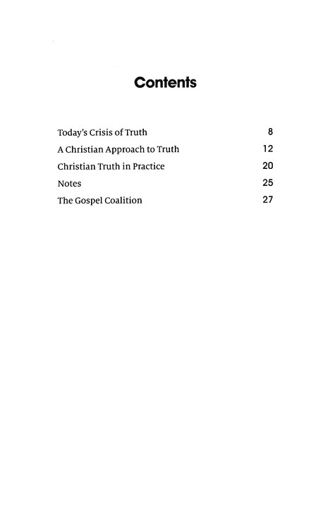 Can We Know the Truth?: Gospel Coalition Booklets