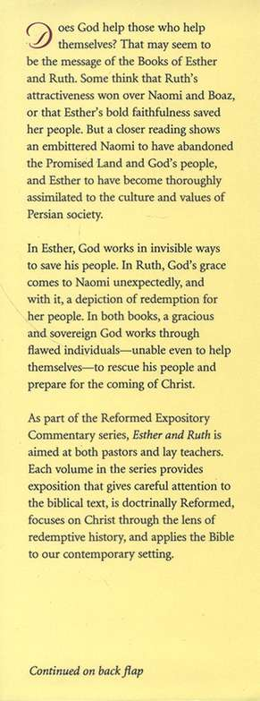 Esther & Ruth: Reformed Expository Commentary [REC]