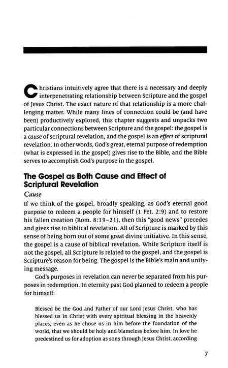 The Gospel and Scripture: Gospel Coalition Booklets