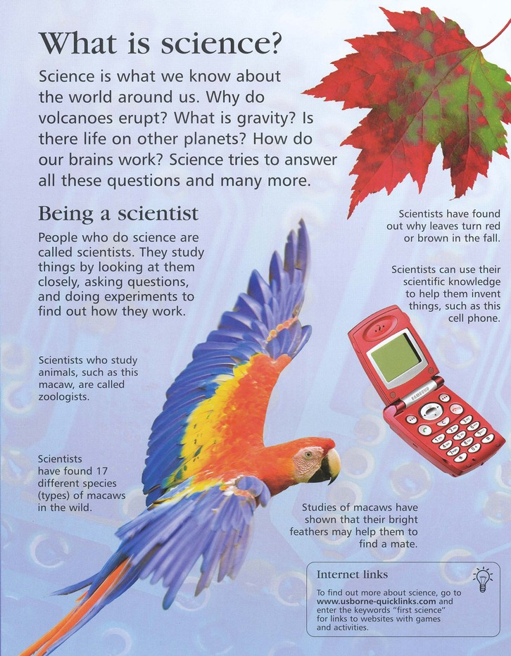 The Usborne Internet-Linked First Encyclopedia of Science