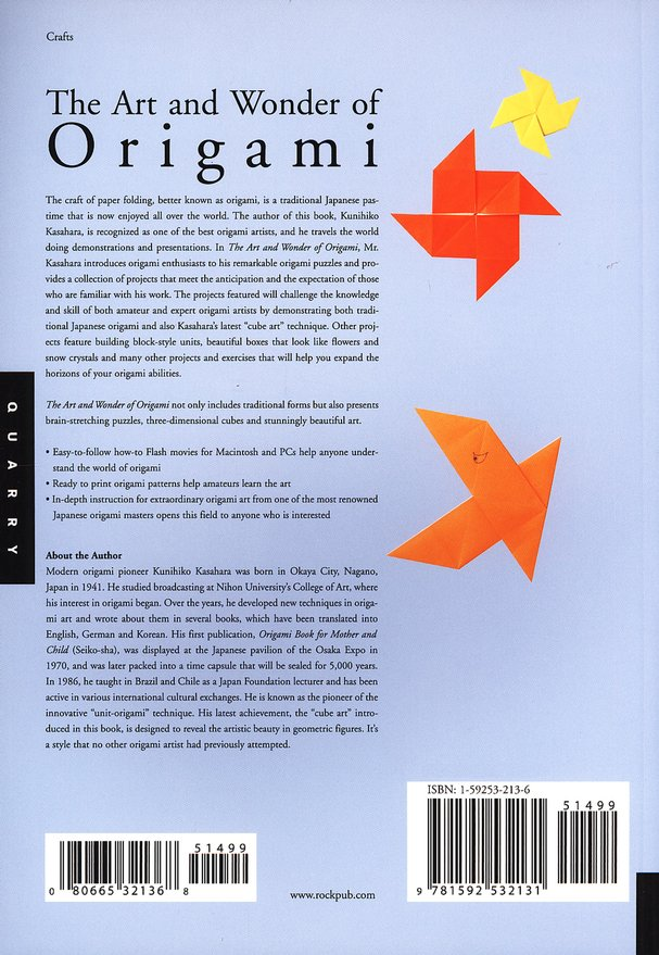 Art And Wonder Of Origami, with Cd-Rom